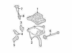 Buick Lacrosse Ignition Knock  Detonation  Sensor  Wleads