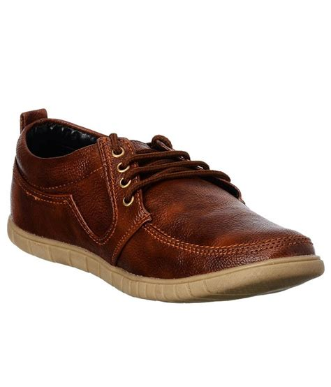 brandvilla brown casual shoes buy brandvilla brown casual shoes at best prices in india