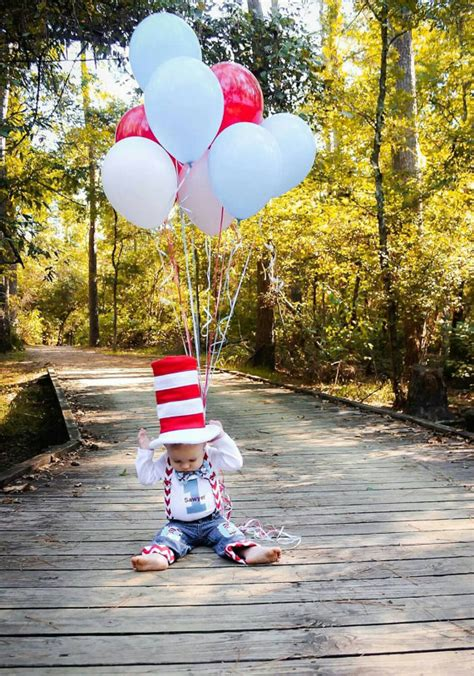 880 best 1st birthday themes boy images on dr seuss baby boy 1st birthday top hat cat in the hat