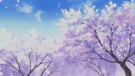 Anime White And Purple Landscape Wallpapers - Wallpaper Cave
