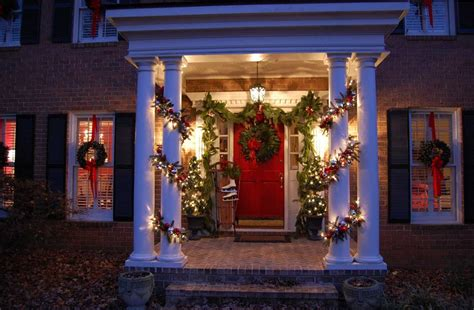 christmas decorating ideas   porch