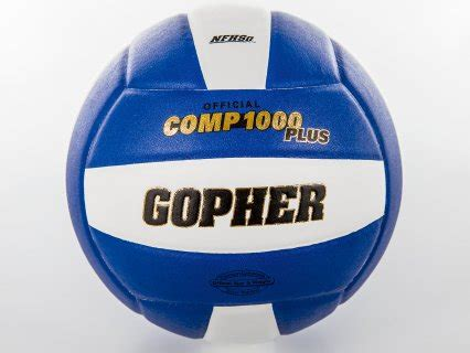 gopher comp 1000 plus volleyball gopher sport
