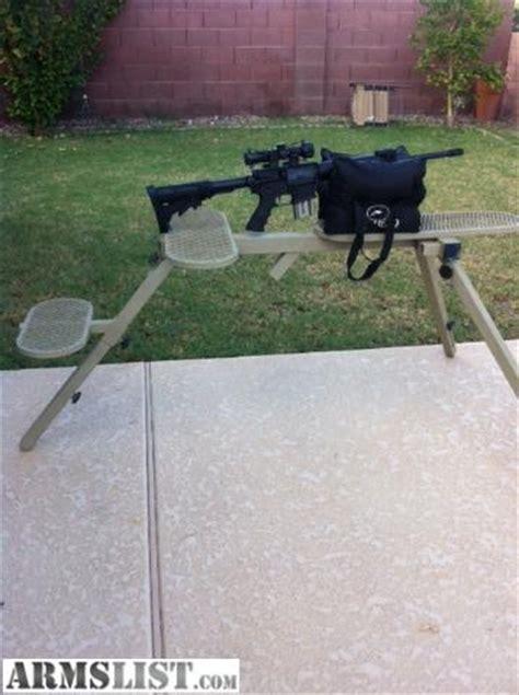 armslist  sale heavy duty shooting bench fully