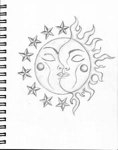 Moon And Sun Drawing - SummerOfLove © 2018 - Apr 25, 2010