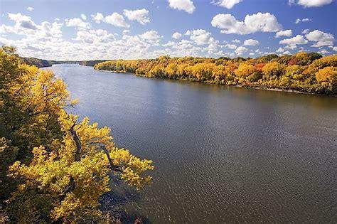 mississippi river worldatlascom