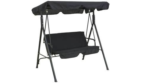 Hammock Argos by Buy Argos Home Metal 2 Seater Garden Swing Chair Black