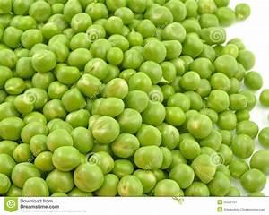 Loose pea seeds stock image. Image of health, vegetable ...