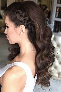 27 Gorgeous Prom Hairstyles for Long Hair | Brunette hair ...