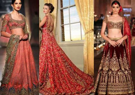Wedding Dresses Indian : Latest Color Trends In Indian Bridal Wear -- Shaadi-e-khas