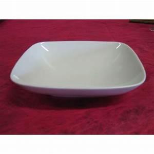 Assiette Creuse Blanche : assiette creuse mikado en porcelaine blanche centre ~ Teatrodelosmanantiales.com Idées de Décoration
