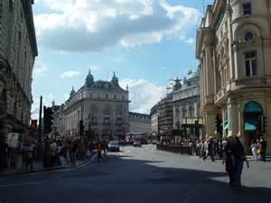 Downtown London England
