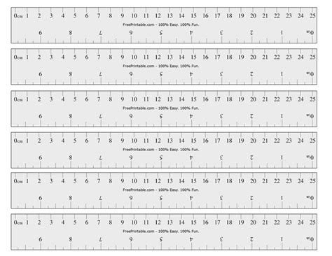 printable cminch ruler math mania pinterest