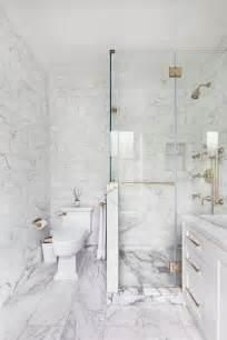 fabulous carrera marble bathrooms   awestruck