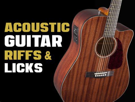 Acoustic Guitar Riffs & Licks   Creative Guitar Studio