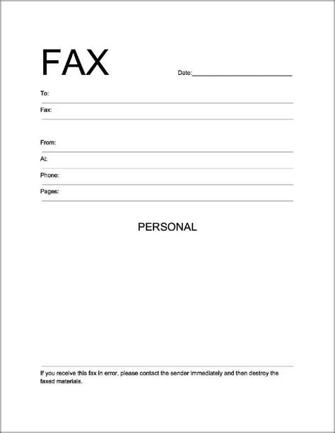 11832 fax cover sheet template word 2010 best photos of word 2010 fax template microsoft word fax