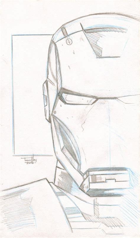 iron man sketch   torruellasarts  deviantart