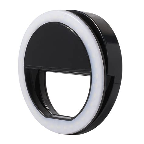 ring light for iphone universal selfie portable flash led fill in ring