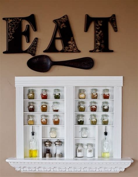 Built In Spice Rack by Diy Built In Spice Racks Shelterness