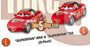 Mia Auto : mattel disney pixar cars deluxe superfan mia tia mater allinol take five a day ~ Gottalentnigeria.com Avis de Voitures
