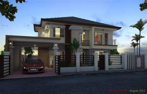 inspirasi rumah mewah minimalis