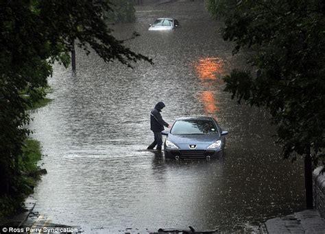flood hit communities braced   rain