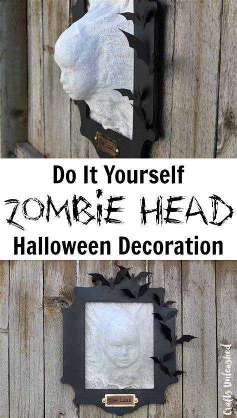 spooky  minute diy halloween decorations