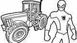 Coloring Tractor Plow Truck Simple Trailer Snow Case Rig Oil John Deere Printable Drawing Colouring Getcolorings Batman Semi Clipartmag Tractors sketch template