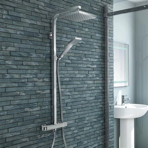 Modern Shower - buy now milan modern chrome thermostatic shower