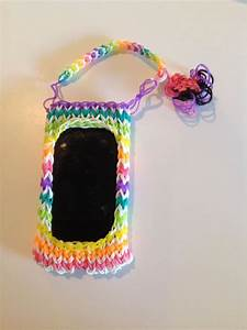 Rainbow loom iPod case. Selling for $7.00   Cute IPod ...