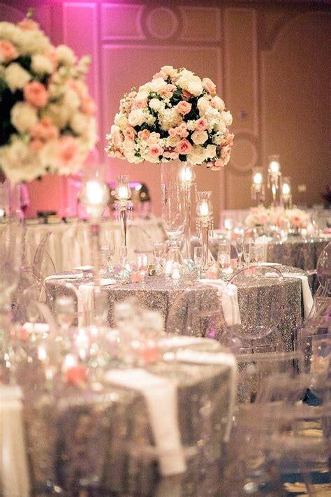 houston wedding silver  pink glamour modwedding