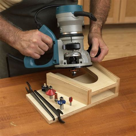 benchtop router rest   safe place  stand