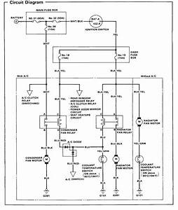 92 Honda Accord Cooling Fan Wiring Diagram