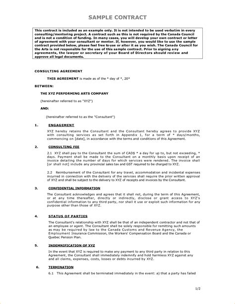 Contract Template 6 Sle Contract Timeline Template