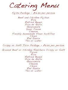 wedding catering prices wedding catering menus