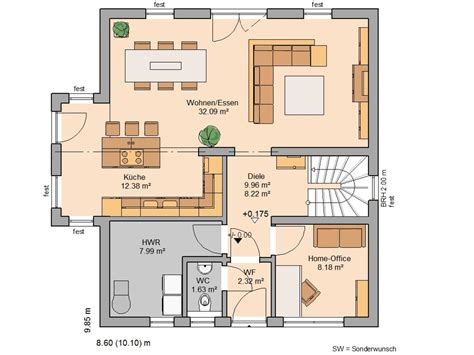 perfekter grundriss einfamilienhaus