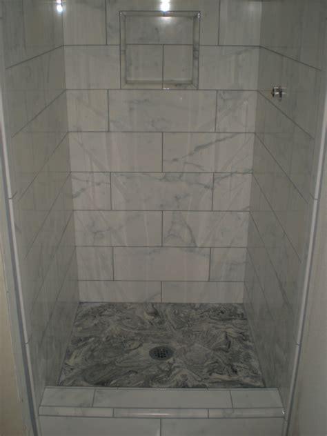 ceramic tile shower floor reversadermcream gray wood tile floors wood hues to striking shiny grey