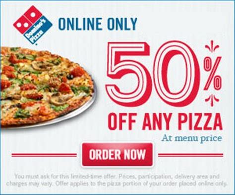 dominos offer coupon