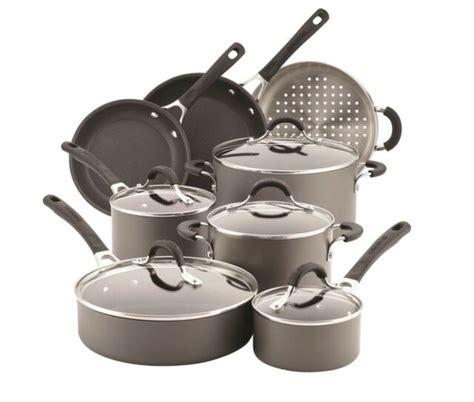 anodized cookware dishwasher safe circulon innovatum hard stick non piece nonstick 13pc gray