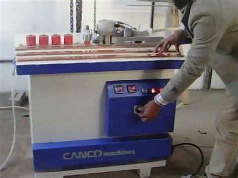 pvc edge banding machine   india youtube