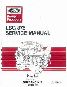 Ford Lsg875 Service Manual