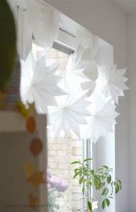 Butterbrotpapier Sterne Vorlage : diy sterne aus butterbrotpapier und tapete happy ~ Watch28wear.com Haus und Dekorationen