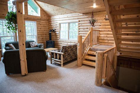 minnesota lake cabin mackinaw  bedroom log cabin