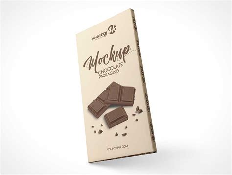 Don't forget to share with your friends! Chocolate - PSD Mockups