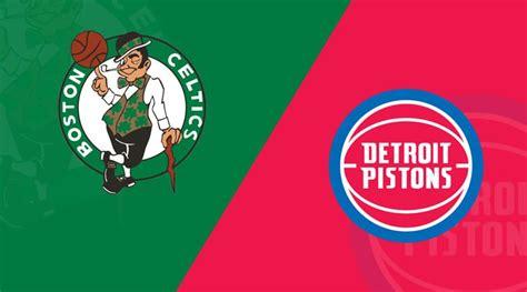 Detroit Pistons vs Boston Celtics – 1/15/20 NBA Computer ...