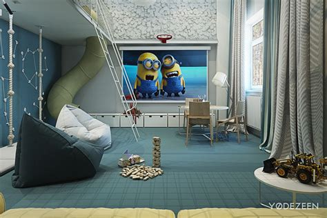 Adorable Apartment Design For Kids With Lots Of Funny