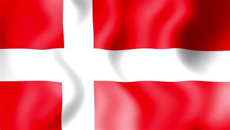 Need a smaller flag image or flag with effect? A Waving Denmark Flag - Animation Stock Footage Video ...