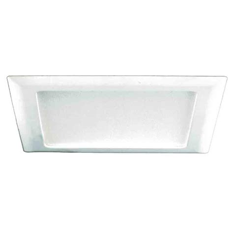 10 inch ceiling light cover halo 9 1 2 in white recessed lighting square trim with