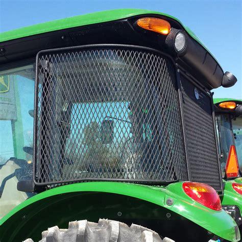 protective cab screen  john deere   series cab tractors