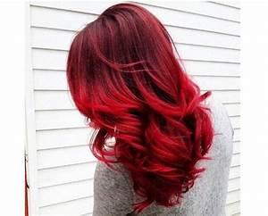 Ombré Hair Rouge : les 25 meilleures id es de la cat gorie cheveux rouge sur ~ Melissatoandfro.com Idées de Décoration