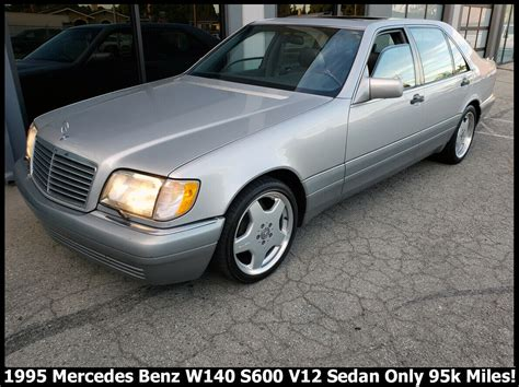 With origins in the first ever car produced by karl benz, mercedes' history is nothing short of amazing. Nice Modern Classic 1995 Mercedes Benz W140 S600 V12 Sedan ...